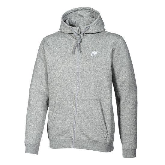 Nike ZIP Hoodie Sportswear Swoosh Grau
