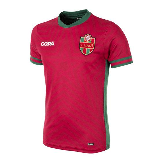 Copa Fußballshirt Marokko rot