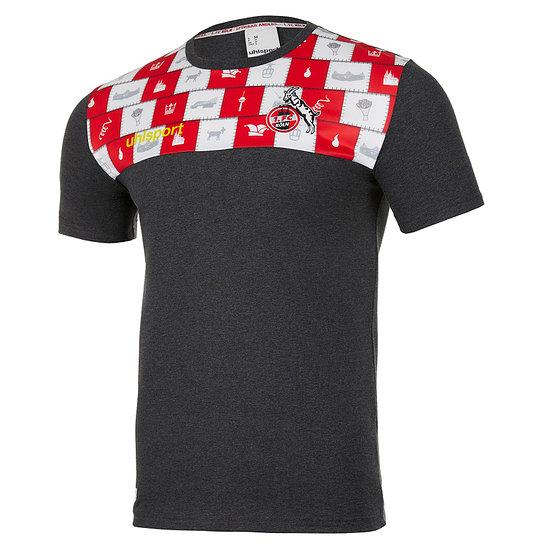 uhlsport 1. FC Köln T-Shirt Fastelovend bunt