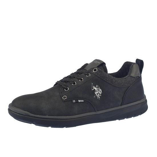 U.S. POLO ASSN. Sneaker Verter schwarz