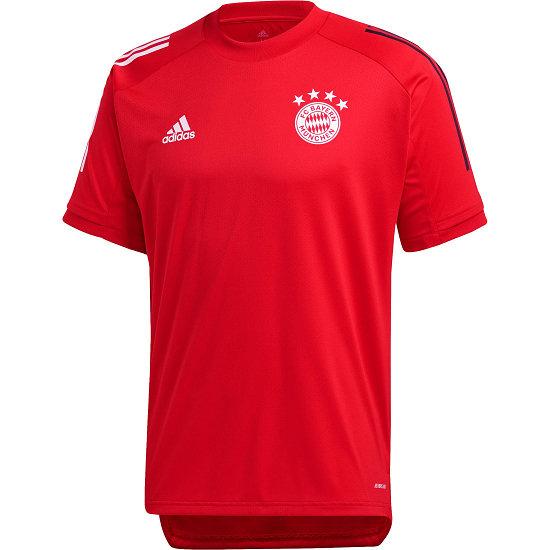 Adidas FC Bayern München Trainingsshirt 2020/2021 Rot/Schwarz