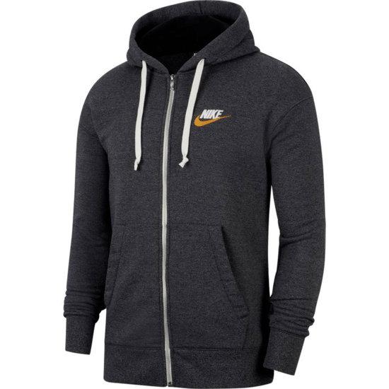 Nike Kapuzensweatjacke HERITAGE Dunkelgrau