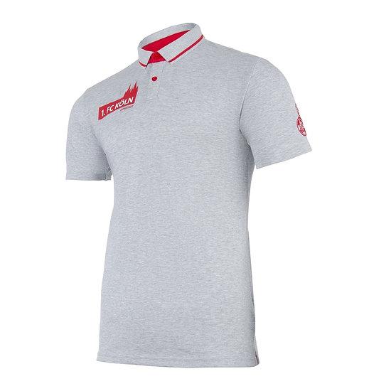 uhlsport 1. FC Köln Poloshirt 3.0 grau/rot