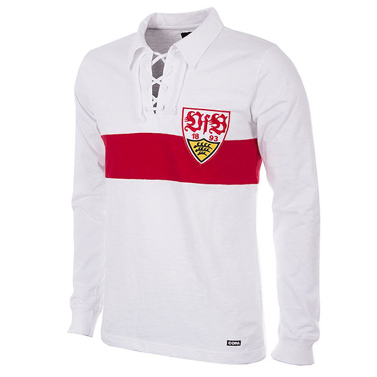 Copa VfB Stuttgart 1958/59 Long Sleeve Retro Shirt