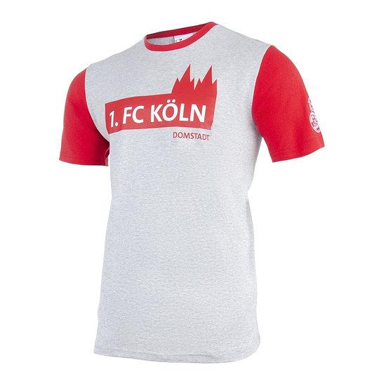 uhlsport 1. FC Köln T-Shirt 3.0 grau/rot