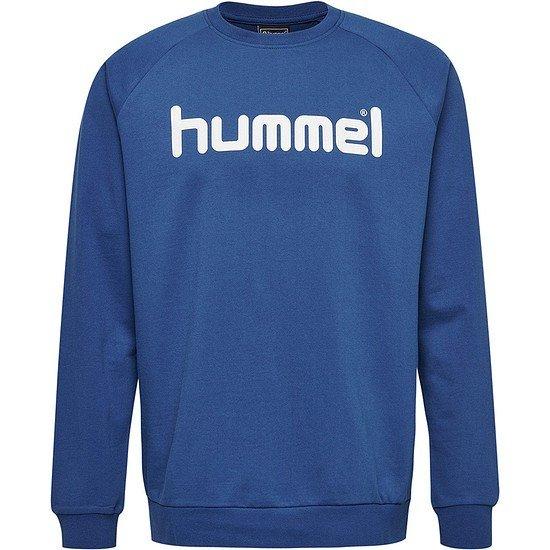 hummel Sweatshirt Go Cotton Logo blau