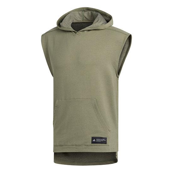 Adidas T-Shirt Hooded TKO Oliv