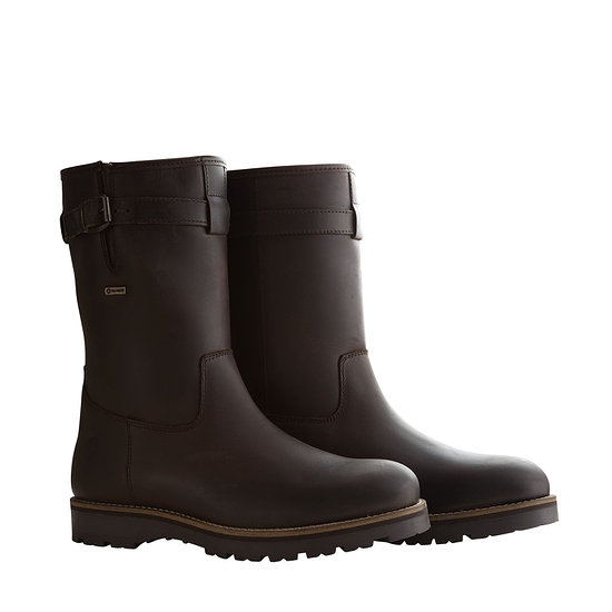 TRAVELIN OUTDOOR Winterstiefel Fairbanks dunkelbraun