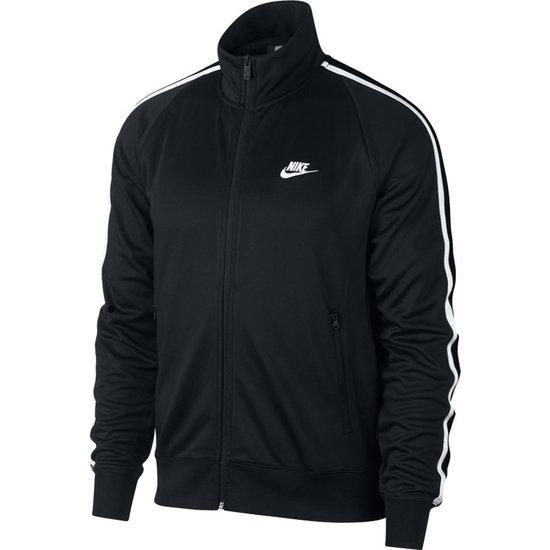 Nike Jacke N98 Tribute schwarz/weiß