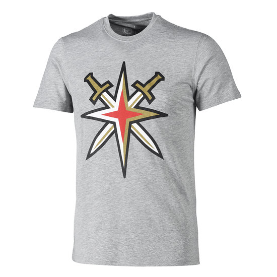 Fanatics Vegas Golden Knights T-Shirt Secondary Core Graphic grau