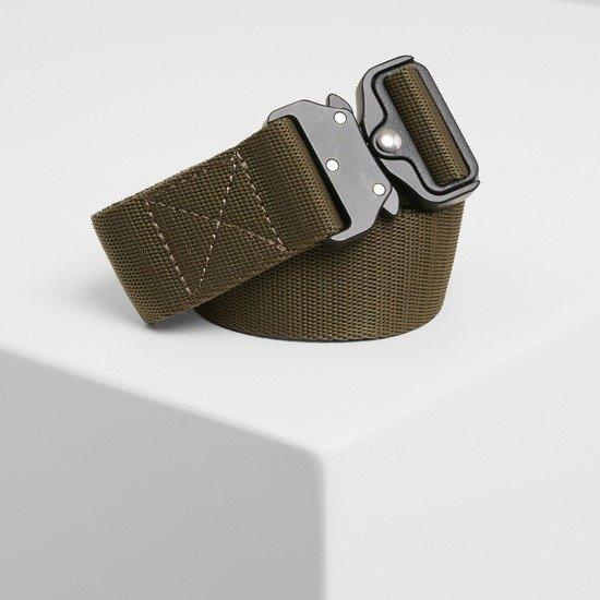 URBAN CLASSICS Gürtel Wing Buckle Belt olive