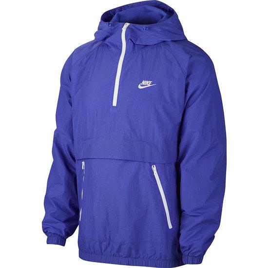 Nike Schlupfjacke Windstopper mit Zip Violett