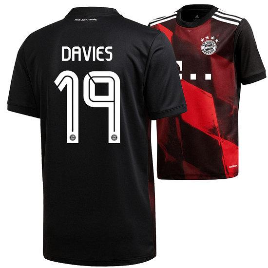 Adidas FC Bayern München CL Trikot 2020/2021 DAVIES Kinder