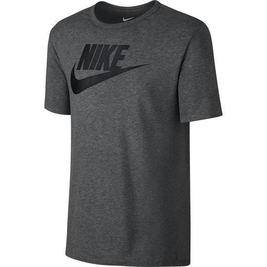 Nike T-Shirt Futura Icon hellgrau/schwarz