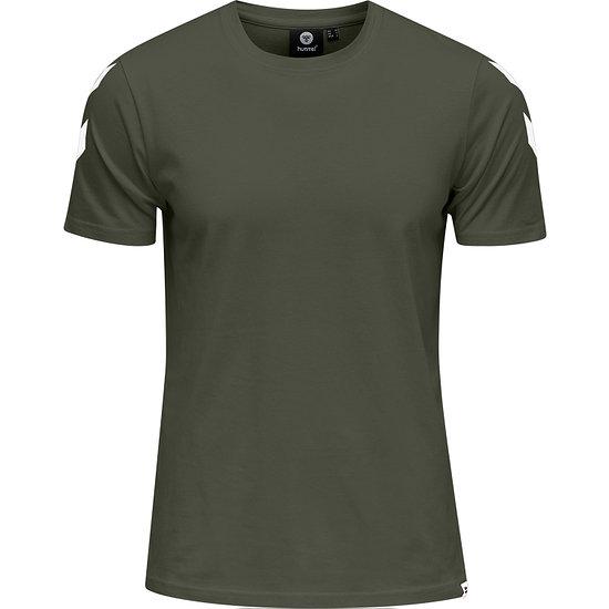 hummel T-Shirt Legacy Chevron beetle