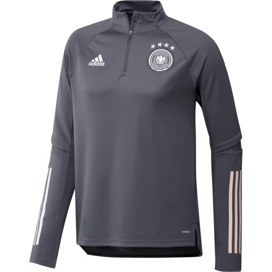 Adidas Deutschland DFB Trainingstop EM 2021 Dunkelgrau