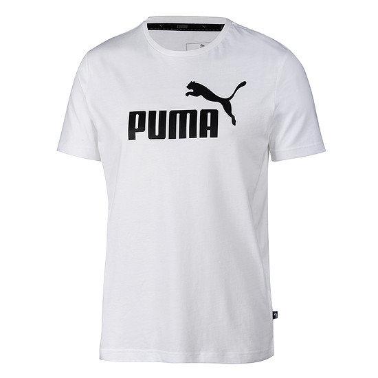 Puma T-Shirt ESS No.1 weiß