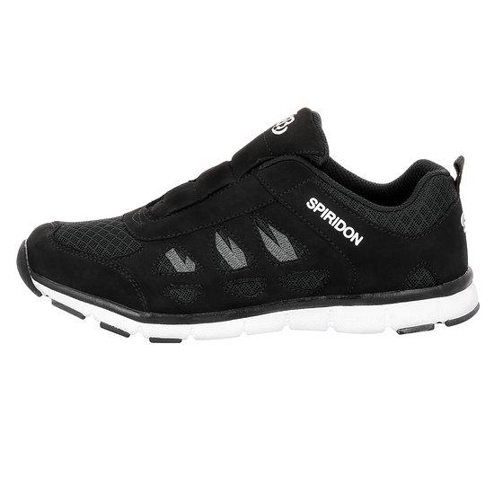 Brütting Sneaker Spiridon Fit Slip In schwarz/weiß