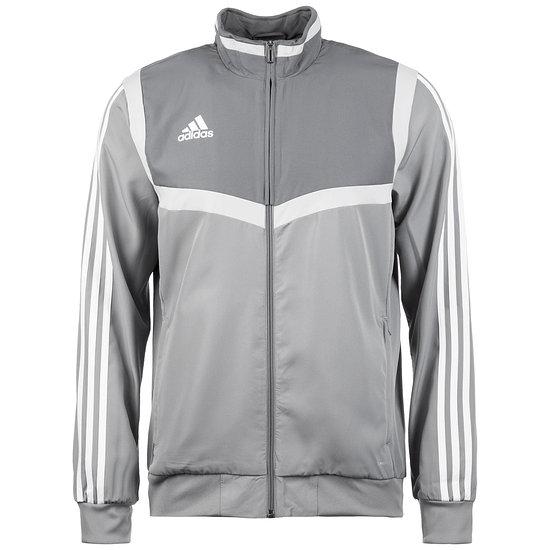 Adidas Fitness-Jacke Tiro 19 Grau