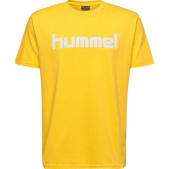 hummel T-Shirt Go Cotton Logo gelb