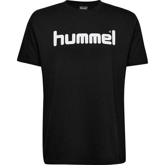 hummel T-Shirt Go Cotton Logo schwarz