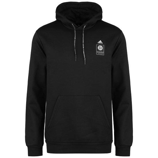 Adidas Deutschland DFB Hoodie EM 2021 Schwarz
