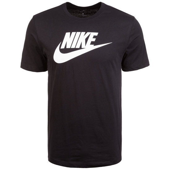 Nike T-Shirt Icon Futura schwarz/weiß