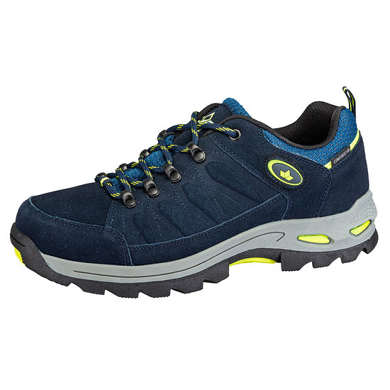 Lico Outdoorschuh Grenoble marine/lemon