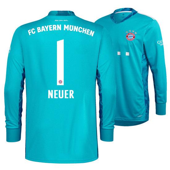 Adidas FC Bayern München Heim Trikot NEUER 2020/2021