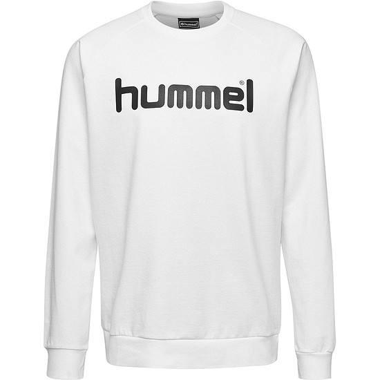 hummel Sweatshirt Go Cotton Logo weiß