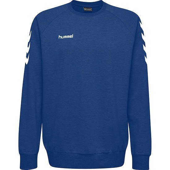 hummel Sweatshirt Go Cotton blau