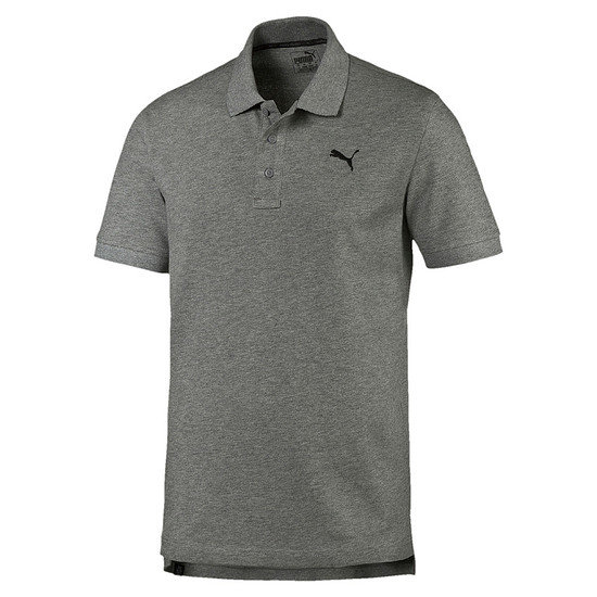Puma Poloshirt ESS Basic Medium Grau