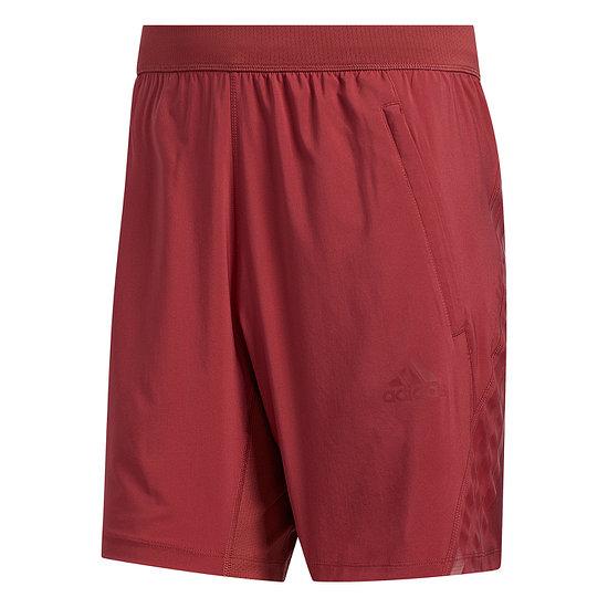 Adidas Shorts AERO 3S Rot