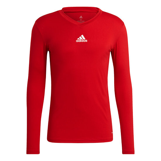 Adidas Trainingsshirt Langarm Team Base Rot