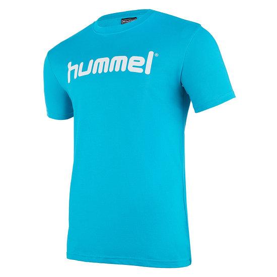 hummel T-Shirt Go Cotton Logo bluebird