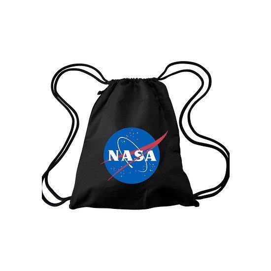 Mister Tee Gym Bag NASA schwarz