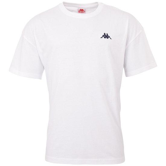Kappa T-Shirt VEER Weiß