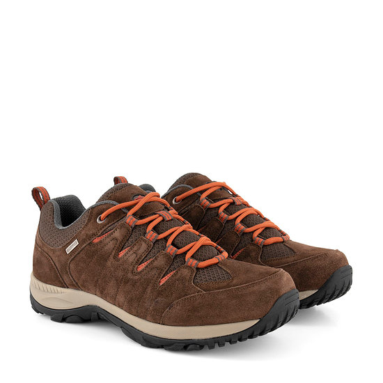 TRAVELIN OUTDOOR Wanderschuh Nyborg Low braun