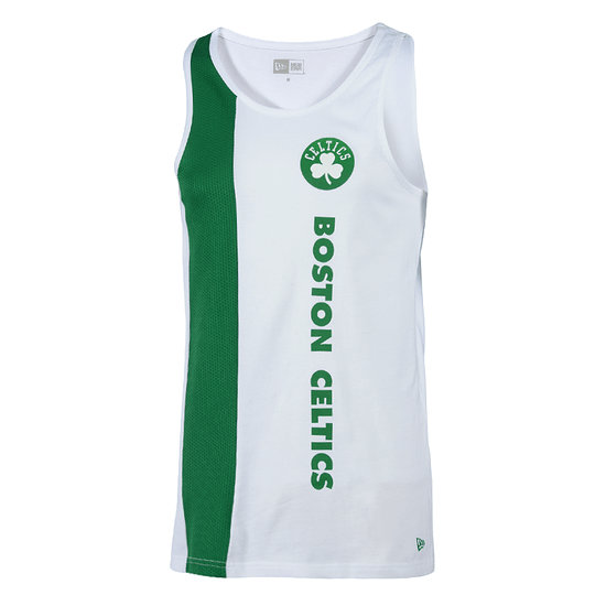 New Era Boston Celtics Tanktop Wordmark weiß