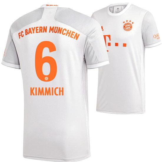Adidas FC Bayern München Auswärts Trikot KIMMICH 2020/2021 Kinder