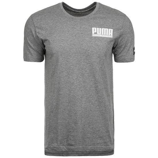 Puma T-Shirt Athletics Style Grau