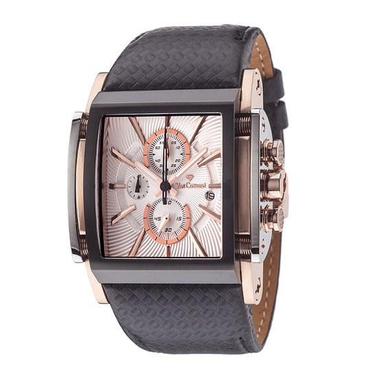 Yves Camani ESCAUT Chronograph Schwarz/Gold