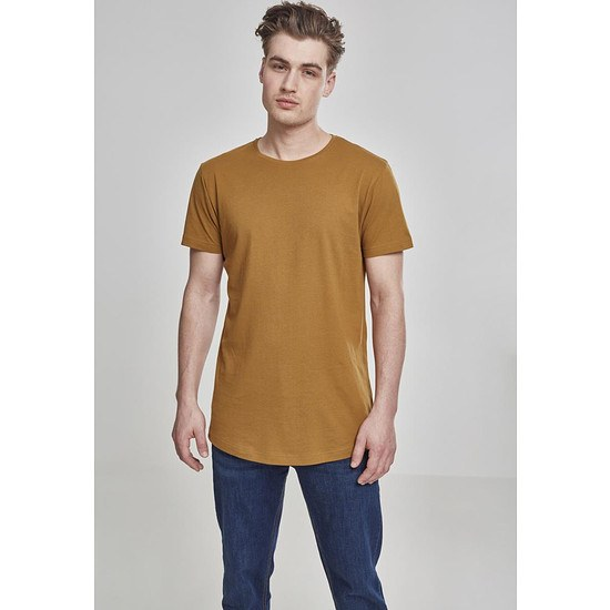 URBAN CLASSICS T-Shirt Shaped Long nuss