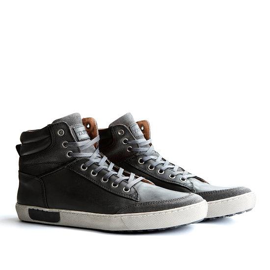 TRAVELIN OUTDOOR Sneaker Aberdeen High grau/schwarz