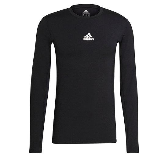 Adidas Trainingsshirt Langarm TechFit Schwarz