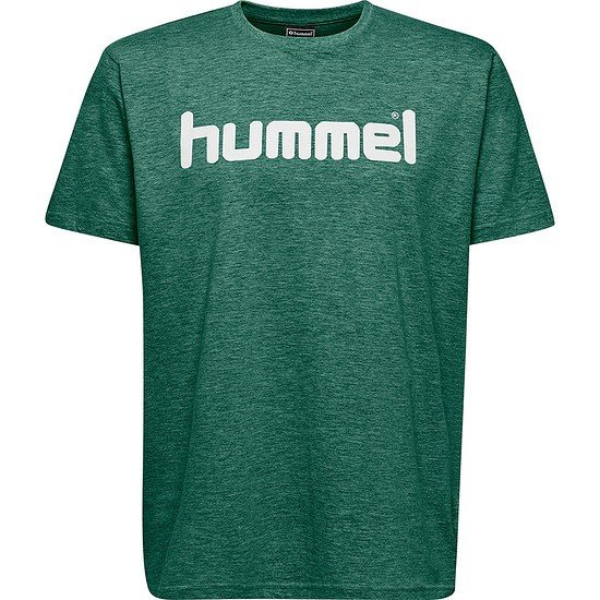 hummel T-Shirt Go Cotton Logo grün