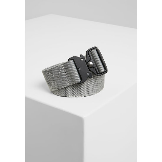 URBAN CLASSICS Gürtel Wing Buckle Belt grau