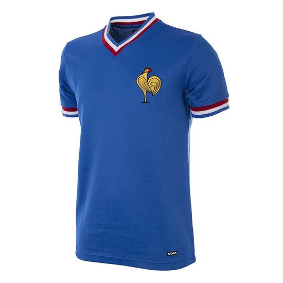 Copa Frankreich 1971 Short Sleeve Retro Shirt