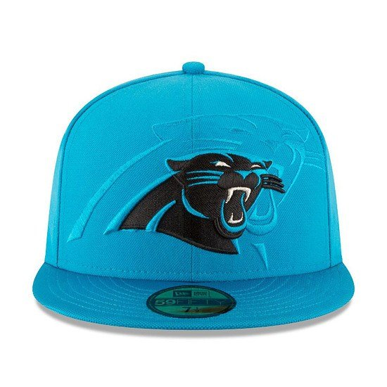New Era Carolina Panthers Cap Sideline 59Fifty hellblau