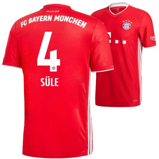 Adidas FC Bayern München Heim Trikot SÜLE 2020/2021 Kinder